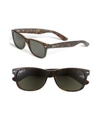 Ray-Ban New Wayfarer 55mm Polarized Sunglasses