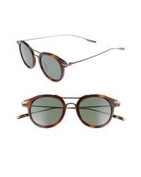 Salt Taft 46mm Polarized Round Sunglasses