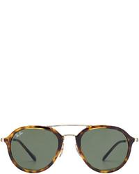 Ray-Ban Tortoise Shell Aviator Sunglasses