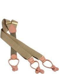Geoffrey beene two tone zig zag suspender medium 13148