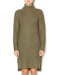 Noisy May Olive Sweater Dress