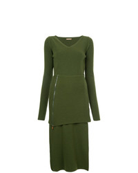 Nehera V Neck Knitted Dress