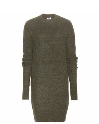 Acne Studios Visa Mohair Blend Sweater Dress
