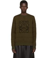 Loewe Green Anagram Logo Pullover