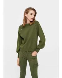 Mango Side Snap Sweater