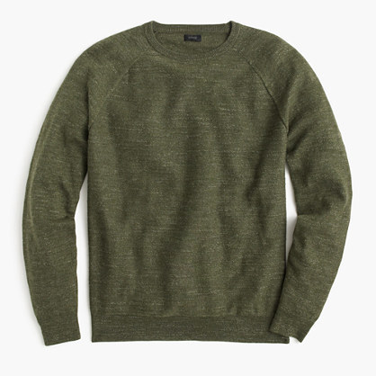 J.Crew Slim Rugged Cotton Sweater | Where to buy & how to wear