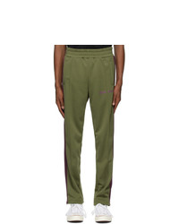 Palm Angels Green College Track Pants