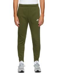 Nike Green Fleece Sportswear Club Lounge Pants