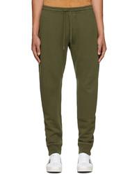 Tom Ford Green Gart Dyed Lounge Pants