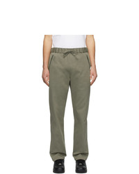 A.P.C. Khaki Carhartt Wip Edition Crossover Lounge Pants