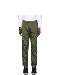 Stone Island Khaki Nylon Metal Lounge Pants