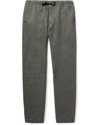 Linen drawstring trousers medium 3759741