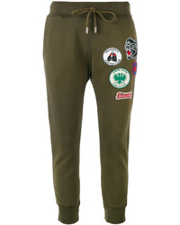 Dsquared2 Patch Embellished Sweatpants