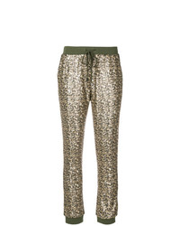 Twin-Set Sequinned Track Pants