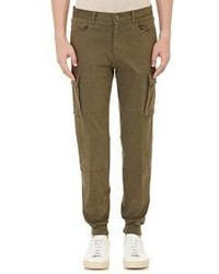 Vince Sueded Jogger Pants Green Size 28