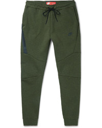 Nike Tapered Cotton Blend Tech Fleece Sweatpants