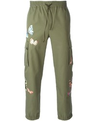 Valentino Stitched Butterfly Trousers