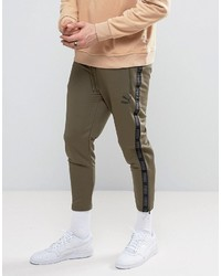 Puma Vintage Joggers In Khaki