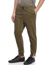 Winchester Twill Drawstring Jogger Pants
