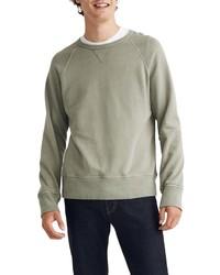 Madewell Gart Dyed Crewneck Sweatshirt