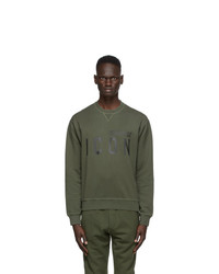 DSQUARED2 Green Icon Sweatshirt