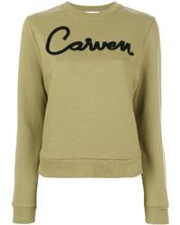 Carven Printed Sweatshirt