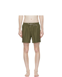 Loro Piana Green Bay Soft Albatros Swim Shorts