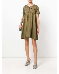 Twin-Set Front Bow Shift Dress