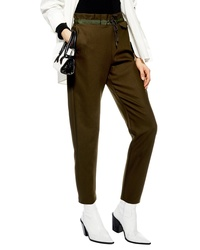 Topshop Luxe Paperbag Pants