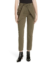 La Vie Rebecca Taylor Patrice Tapered Ankle Pants