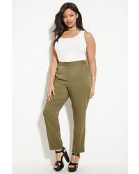 Forever 21 Plus Size Tapered Trousers