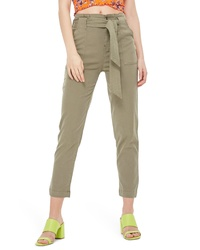 Topshop Popper Utility Trousers
