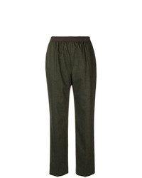 Agnona Pull On Tapered Trousers