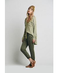 Free People Relaxed Washed Pant