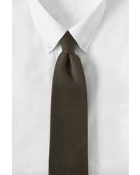 Lands' End Long Silk Wool Necktie