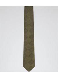 Reiss Rambo Cross Hatch Silk Tie