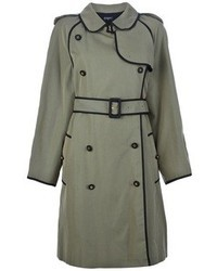Chanel Vintage Double Breasted Trench Coat