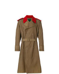 Jean Paul Gaultier Vintage Contrast Details Trench Coat