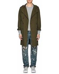 NSF Cotton Twill Trench Coat