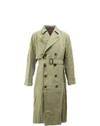 Ziggy Chen Double Breasted Trench Coat