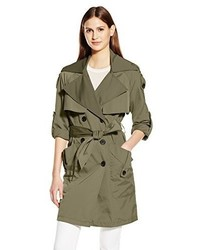 BCBGeneration Double Breasted Trench