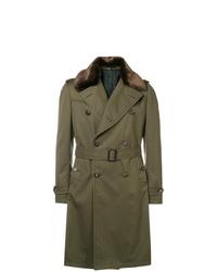 Tagliatore Faux  Trench Coat