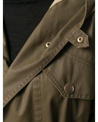 Etoile Isabel Marant Isabel Marant Toile Fenton Hooded Trench Coat