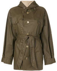 Etoile Isabel Marant Isabel Marant Toile Fenton Hooded Trench Coat