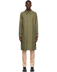 Burberry Khaki Kirkstall Trench Coat