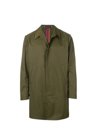 Ps By Paul Smith Long Sleeve Trench Coat