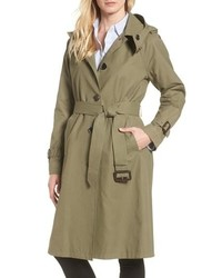 MICHAEL Michael Kors Michl Michl Kors Hooded Trench Coat
