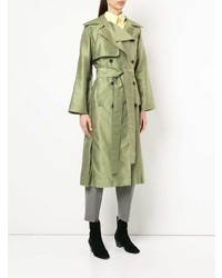 Nino Babukhadia Mid Length Trench Coat