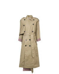 Tome Oversized Asymmetric Trench Coat
