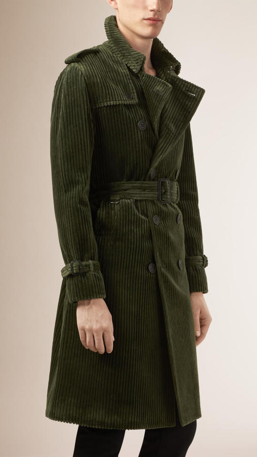 cheaper sale united states new images of $2,395, Burberry Prorsum Corduroy Trench Coat